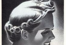 Retro-Hair / Setting Hair