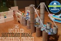 STEM / all things that use creative juices & problem solving!