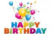 Gefeliciteerd met je verjaardag/Happy Birthday / felicitatie plaatjes voor een verjaardag