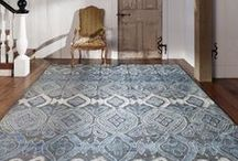 Cool Blues / Browse some our our favorite cool blue rugs available at newmoonrugs.com