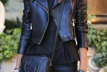 ✿ Leather  ✿ / It´s all about #leather #outfits & #fashion