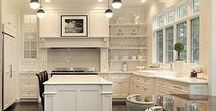 Kitchen Design Inspiration / The sky's the limit as you dream of your beautiful kitchen...