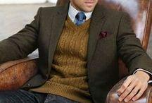 Dressing him / Man's closet