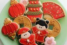 Chinese New Year / We enjoy celebrating the Chinese New Year!