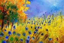 Painting - Landscape / an array of landscape paintings...