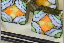"""Sushi <3 / Loved it since the first time I tried it in 1993..Have talked so many friends in to trying it over the years! The word """"sushi"""" is often ambiguous for non-native Japanese. We think of it as being interchangeable with raw fish. Sushi is vinegared rice topped with other ingredients."""
