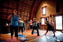Yoga Retreats / Ridgewood Event Center Hosts all kinds of events. Yoga retreats are among our favorites.