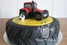 Taart jongen / cake boy fondant
