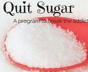Quit Sugar Week Four / Our Fourth Week of Eating No Sugar. Plus BONUS. No added sugars in any of our foods. Very little fruit, a cup of berries or one small piece of fruit daily. Supplement list to break the sugar addiction included.