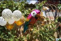 #Event - PARTY - Jungle Party / # Event - PARTY - Jungle Party Design by La tête dans les z'étoiles - Happy Event : JUNGLE PARTY. Crédit photo : La tête dans les Z'étoiles. Anniversaire, decor, jungle,tropical, design, décoration, event, birthday, fête