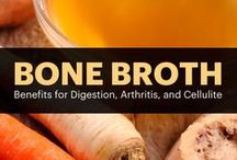Bone Broth Cleanse / This mineral-rich liquid has been praised for its gifts of immune support, digestive health, and joint strength along with beauty-enhancing qualities of strengthening hair and nails and reducing acne-causing inflammation.
