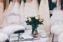 BRIDAL SHOWROOM / Our beloved couture showroom in Chichester, UK / bridal / wedding dresses