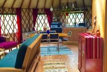 Yurt Life / Dreaming of living in a yurt, maybe someday! Inspiration for the future...