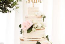 WEDDING CAKES / Wedding cakes as gorgeous as Ruth Milliam's dresses! www.ruthmilliam.com