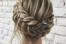 WEDDING HAIR / You need a gorgeous hairstyle to go with that beautiful Ruth Milliam Couture gown! wedding hair / hairstyle
