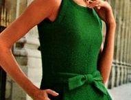 @Rimpelsteeltjes - groen/green - tinten / Kleding styl kleur