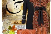 @Rimpelsteeltjes  - oranje -  tinten - women fashion / Kleding styl kleur