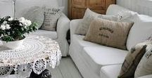 Shabby Chic Farmhouse Style / Inspiration for shabby chic farmhouse style home decor!