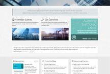 Web Design Portfolio / Custom Software Lab's Web Design Portfolio of Work  http://www.customsoftwarelab.com/portfolio-web-design.html