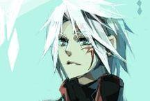 D.Gray-Man!!! / Fave character : 1. Cross Marian 2. Tikky