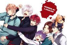 Diabolik Lovers!!! / Fave character: 1. Shu 2. Subaru