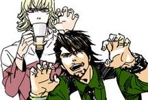 Tiger And Bunny!!! / Fave character: Kaburagi T. Kotetsu! We are so alike... i love him...