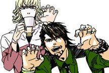 Tiger And Bunny!!! / Fave character: Kaburagi T. Kotetsu! We are so alike... i love him...