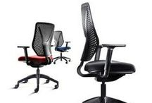 Mesh Back Task And Operator Chairs / Task And Operator Chairs with mesh back for improved user comfort.