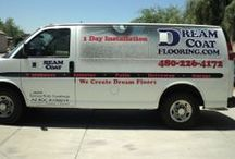 Dream Coat Flooring /  Dreamcoat Flooring is dedicated to maintaining the highest quality products and installations using only industrial grade epoxies, polyurethanes and polyaspartic polyureas.  Dream Coat Flooring – (480) 226-4172 http://www.dreamcoatflooring.com/
