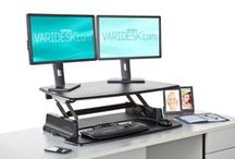 VARIDESK Single | VARIDESK Pro / VARIDESK height adjustable desk platforms provide a complete desk solution that enables the user to adjust the height of their desk surface, to allow variation between the sitting and standing positions throughout the working day. VARIDESK Product Page: http://www.genesys-uk.com/Varidesk/ Genesys Office Furniture Home Page: www.genesys-uk.com
