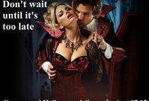 Halloween Vampire Wedding