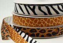 Safari Animal Print / Party-Décoration-Emballage