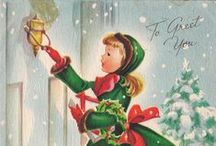Natale - illustrazioni vintage