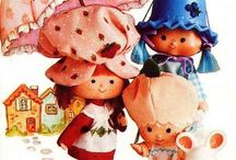 vintage sbsc / i happen to be a collector of vintage strawberry shortcake products ( ´ ▽ ` )ノ / by Natalie Perez
