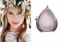 Cuarț Roz / Rose Quartz / Bijuterii din argint cu piatra semiprețioasî cuarț roz. Rose Quartz gemstone jewelry for women.