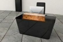 Share Reception Desks / Share Reception Desks - Product Page: http://www.genesys-uk.com/Share-Reception-Desks.Html  Genesys Office Furniture Homepage: http://www.genesys-uk.com  Share Reception Desks have been designed with pristine simplicity in shape and style, complemented by a bold, dynamic choie of brass, steel and copper to the feature metalwork up-stands and iconic leg frame.