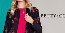Betty & Co / Betty & Co is an exciting brand with a young and authentic feel that is full of emotion; it offers casual everyday looks with feminine details. Betty & Co embodies women who want an individual style with a feminine smart-casual signature. Knitwear and shirts are predominant and the is completed with an attractive array of accessories. Women that wear Betty & Co live by the motto: be authentic, be surprising.