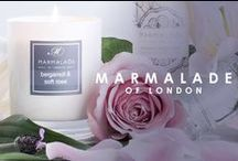 Marmalade of London at Jonzara.co.uk / Marmalade of London is a British brand that creates a little indulgent luxury for every home.  http://www.jonzara.co.uk/accesories/marmalade-of-london-candles-and-fragrances.html