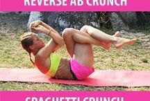 Stomach Exercises / A collection of workouts to get your tummy toned and sexy