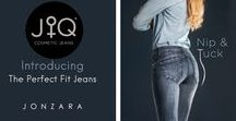 JQ Jeans at Jonzara / Discover the perfectly fitted jeans by JQ Jeans available now at Jonzara online.