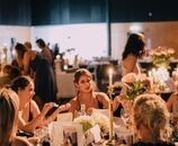 Real Event: Be Her Freedom / An all female event that raises money for those in human trafficking. The styling inspiration for this event went for a dark moody base, with light gold and floral highlights and a 10m long dessert table to finish it off!