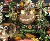 Inspiration: Grazing Table / Whats more to love really? Luxurious, lavish tables adorned with the best of Tassies produce. We love grazing tables