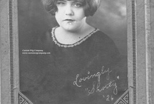 Ladies Hair - 1920's Ordinary, Everyday / Photos from the Pana Township High School Class of 1926 and other sources showing hairstyles from the 1920's - focusing on the more down to Earth styles, less of the glamorous flappers