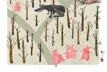 Illustrations / by Martine Saunal