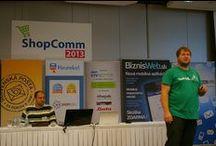 Shopcomm 2013 / We visited the conference focused on e-shops. Bratislava, Slovakia (26.9.2013)