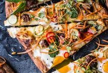 Pizza and Flatbreads / Delicious pizzas and flatbreads - pepperoni, vegetarian, fusion, CPK etc.