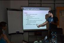 SEO workshop / BizWebs attended on SEO workshop under the leadership Tibor Peták, specialist in optimalization