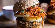 Burgers and Grillin / All food you can throw on your barbecue and grill it up including amazing burgers, chicken, vegetables, fish etc.