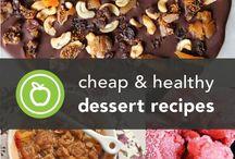 Healthy Desserts.