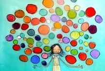 Pinturas y colores...muchos colores!!!
